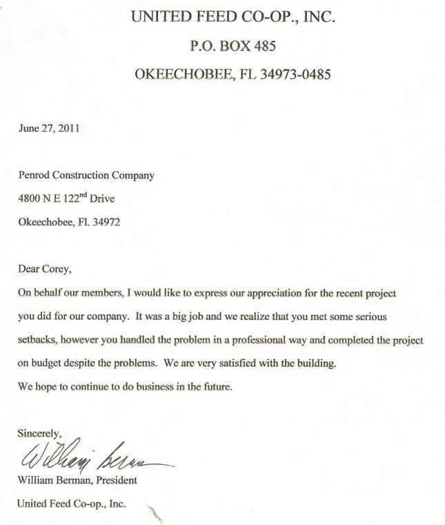 Penrod Construction Company - Florida General Contractor ::